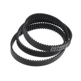 GT2 6mm Closed Loop Timing Belt 2GT-6 280/400/610/852mm Rubber Synchronous Belt