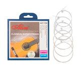 アリスAC130-Nクラシックギター弦セット0.028-0.043コーティングされた銅合金巻線メッキ鋼4弦