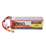 ZOP Power 14.8V 6000mAh 65C 4S Lipo Battery XT60 Plug for RC Drone