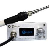 Quicko T12 STM32 OLED Пайка Станция ЧПУ Панель с ручкой 907 T-12K Припой Железный наконечник