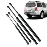 4Pcs Car Rear Window Portellone Gas puntone supporto barra di sollevamento per Nissan Pathfinder R51 2005-2012