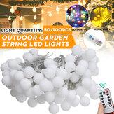 20/50 / 100LED Küre Ampul Dize Işık USB Powered Outdoor Parti Yard Odası Dekorasyon Peri Lamba Uzakdan Kumanda ile