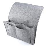 Organiser les sacs de rangement Sac à suspendre au chevet Boîte de rangement pour canapé de chambre à coucher en feutre