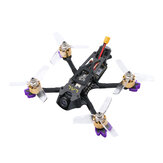 Everyine LAL3 145mm 3 Inch 3-4S FPV Racing Drone PNP كاميرا Caddx Turtle V2 1080p 60fps HD F4 FC 1408 3750KV محرك 25A زر ESC فى الكيبورد 300mW VTX