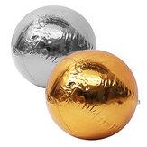 AufblasbareSpiegelkugelndesGoldsilber-Chrom-PVCsEreignisseMessen-Verein-Räume Ballon