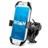 Universal Adjustable Motorcycle Holder Bike Handlebars Bracket Phone Mount for All Smartphone