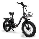 [EU Direct] CMACEWHEEL Y20 48v 15Ah 750W 20in Sepeda Listrik Lipat 3 Mode 45km / h Kecepatan Maksimum Jarak Cakram 60-100km E Sepeda