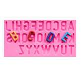 Food Grade Silicone Cake Mold DIY Chocalate Cookies Ice Tray Baking Tool Letters Of Alphabet