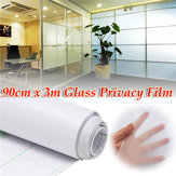 90cm 300cm Frosted Window Tint Kaca Privasi PVC Film Untuk DIY Rumah Kantor Toko