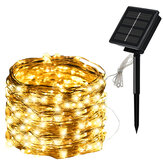 5M/10M/20M Solar Powered LED String Lights 8 Modes Waterproof Outdoor Garden Home Decoration