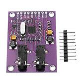 CJMCU-1293 ADS1293 Electrocardiogram (ECG) Physiological Signal Measurement Module 3 Channel 24 Bit Analog Front End