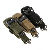 ZANLURE MS4 Adjustable Mission Two Points Tactical Rope Quick Detach QD Buckle Tactical Sling Outdoor Nylon Belt Rope