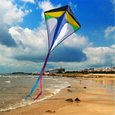 26 '' × 30 '' Diamond Delta Kite Outdoor Sports Legetøj til Kids Single Line Blue Toys