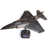 HLK-31 EPP 640mm Wingspan 2.4 Ghz 6CH Auto-return 3D Stunt RC Avião com FC Mode 2 RTF remoto Controlado War Fighter Asa fixa pronta para voar