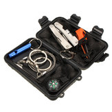 6 in 1 Emergency Survival Uitrusting Kit Buitensporten Tactische Hiking Camping Gereedschap Kit