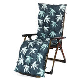 170*53*8cm Recliner Soft Back Pearl Cotton Comfortable Garden Lounger Recliner Chair Cushion Lounger Bench Pad Household