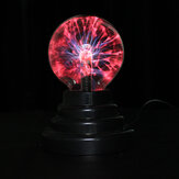 3 Inches USB Plasma Ball Sphere Lightning Light Crystal Lamp Globe Laptop
