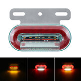 1PC 12LED 12V Flowing LED Side Marker Signal Light Indicator для грузовых прицепов