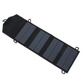 IPRee® 10W 5V Solar Panel 1A Working Current Foldable Solar Mobile Charging Outdoor Camping Mobile Power Battery Charger