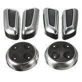 Chrome Seat Adjustment Switch Cover Trims for Audi A3 A4 A5 A6 Q3 Q5 for VW Tiguan