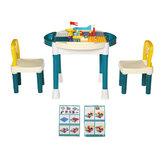 Παιδικά δομικά στοιχεία Παιδικά τραπέζια και καρέκλες Σετ παιχνιδιών τούβλα Δραστηριότητα Παίξτε Baby