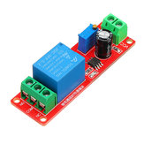 5pcs NE555 Chip Time Delay Relay Module Single Steady Switch Time Switch 12V