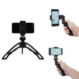 APEXEL APL-TRI Mini Desktop Multi-directional Adjustable Handheld Tripod with Clip for Smartphones