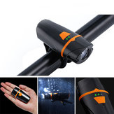 XANES®XL32650LMT6Reflektorrowerowy 4 tryby Wodoodporny wyświetlacz zasilania 1200mAh Akumulator USB Bike Przednie światło