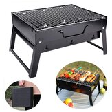 43x22x29cm Portable Charcoal Grill Household Foldable Barbecue Grill Small BBQ Grill for Outdoor Backyard Camping Garden