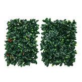 40 * 60CM Τεχνητά Topiary Hedges Panels Πλαστικά Faux Shrubs Fence Mat Πράσινοςery Wall Backdrop Decor Κήπος Απόρρητο Οθόνη