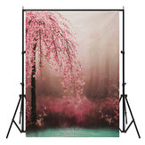 7x5ft Romantique Fleur Vinyle Photographie Fond Photo studio Prototype Prototype