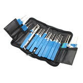 DANIU Practical 34 in 1 Multi-function Lock Pick Set Unlocking Tool Lock Pick Tools