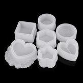 DIY Silicone Caixa de jóias Armazenamento Molde para resina epóxi fazer jóias ferramentas de molde
