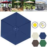 2 м складной сменный навес зонтик UV блок крышки сильный толстый патио протектор от солнца