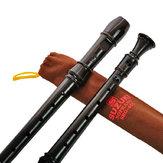 Музыкальный инструмент SRG-405 Немецкий 8-луночный Clarinet Soprano Recorder