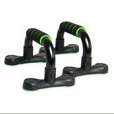 1 dvojice push up stojanů Protiskluzová polstrovaná pěnová rukojeť podporuje stojanové domácí cvičební nářadí