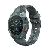 Bakeey Camouflage Watch Case Strap Set Replacement Strap Watch Case Cover For Huawei Watch GT2 46MM