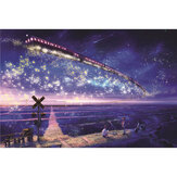 1000 Pieces Of Jigsaw Puzzle Star Sky Ocean Train Series Jigsaw Puzzle Indoor Toys
