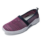 Women Mesh Hollow Out Breathable Sneakers