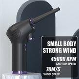 Air Duster sans fil rechargeable pour ordinateur et PC Outils de nettoyage de nettoyage de voiture à domicile