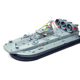 Brushless Kapal Perang RC Boat 2.4G 1/110 Kapal Model HG-C201 Landing dan air Air Cushion Landing Craft