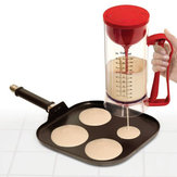 Cordless Electric Pan Cake Cup Cake Waffles Batter Mixer Dispenser Maker Machine