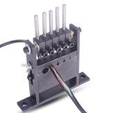 5 furos de tamanho preto manual cabo Fio máquina stripper para 1-30 mm de diâmetro Fios