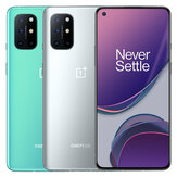 OnePlus 8T 5G Global Rom NFC Android 11 12 GB 256 GB Snapdragon 865 6,55 tommer FHD + HDR10 + 120Hz Fluid AMOLED-skærm 48MP Quad Camera 65W Warp Charge Smartphone