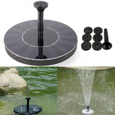 7V Solar Power Floating Brushless Water Pump Garden Landscape Submersible Fountain