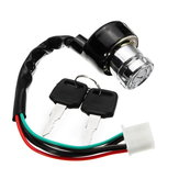 Ignition Switch Starter Com Chaves 6 Fios 3 Engrenagens Para Motocicleta ATV UTV Go Kart Dirt Bike