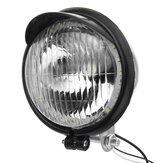 12V Retro LED Motocykl Bullet Białe reflektory Hi / Low Beam Super Bright Light