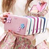 Prettyzys universal funcional carteira zipper caso saco para menos de 6 polegadas smartphone
