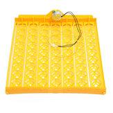63 Position inkubator drejeskuffe med en PCB Drejemotor til æg Quail Fjerkræ