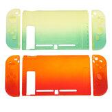 Custodia protettiva colorata antiurto con guscio sfumato per Nintendo Switch Custodia rigida protettiva per console di gioco con tappo a bilanciere